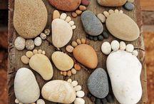 Sea Glass & Rocks
