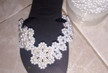 ciabattine con perle