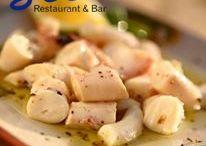 Mediterranean cuisine / Delicious tapas and daily caught fish.
