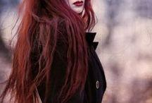 cabello, tonos y estilos