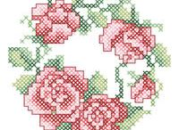 Cross Stitch -- Flowers, Trees, & Nature