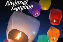 Kívánság lampion, Égi lámpás
