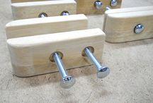 Outils divers en bois