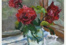 Noak Marina (Yakusheva) fine art / Painting, art, oil painting, watercolor painting, still life, flowers, food art.