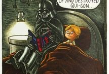 Darth Vader and son!
