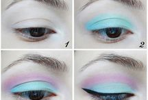 Pastel Eyeshadow / Live out your best pastel goth life with this eyeshadow www.DelicateCaressCosmetics.com