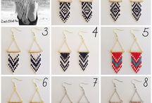 DIY earrings ☆