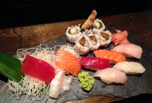 Entrees / Sashimi platters, sushi combos, and a special Yume course