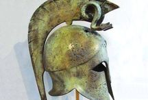 Spartan Helmet  hellenic-art.com / Spartan Helmet from Hellenic-Art Learn More at http://www.hellenic-art.com/