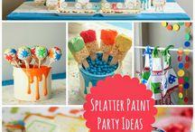 Paint party / Party ideas