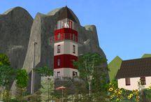 Sims 2- Lots