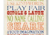 Kids playroom  / by Bridget K