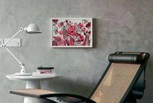 Marmorato / Esta técnica promete um acabamento lindo e ambientes modernos.