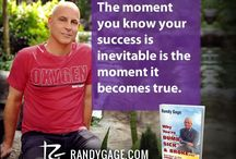 Randy Gage Quotes / helps people transform self-limiting beliefs into self-fulfilling breakthroughs to achieve their dreams. His motivational story of rising from a jail cell as....