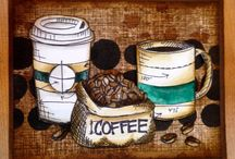 Tim holtz Fresh brewed
