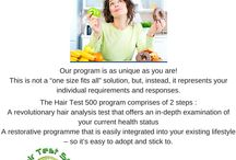 Hair test 500 System / Discover the source of your Food Intolerances through a simple Hair Sample.  We test 500 products plus and extra 30 practitioner support products to assist with Gut Repair .