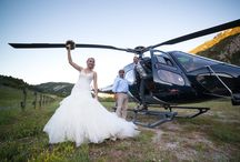 mariage helicoptere