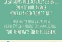 Mother's Day 2014 / Celebrate #MothersDay2014 and share these heartfelt postcards with your mom, grandparent, aunt or, friends!