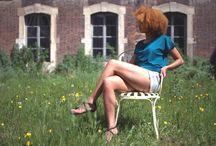 Testa Testa - shooting photo / Collection Testa-Testa - Julie Bonnard Créations Photographies - Tybald Jaud Modèle - Inès Zigbe