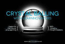 "Crytsal Balling with Learnnovators / ""Crystal Balling with Learnnovators"" is a thought-provoking interview series that attempts to gaze into the future of e-learning. It comprises stimulating discussions with industry experts and product evangelists on emerging trends in the learning landscape."