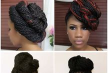 Now style them braids up gal!