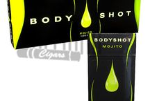 Bodyshot Filtered Cigars / Made from premium tobacco homegrown in America, Bodyshot Filtered cigars are some of the finest full-strength little cigars available today.