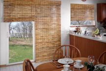 blinds on the balkony