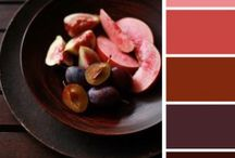 Red color palette / Color palette for future paintings