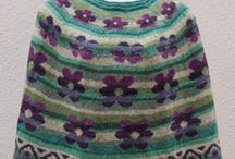 Perlestrik.dk / Some of my wife's knitting designs