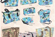 Handcrafted Donna Sharp / Donna Sharp Hand Bags