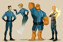 Super Heroes / This board is dedicated to super heroes, Marvel, DC, and even the home brewed variety. / by Jonathan King