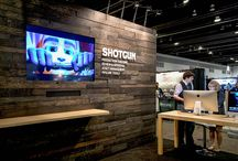 Outstanding Trade Show Booths / Everyone has seen the regular old boring booths. Check out these examples of companies that are breaking the mold in Trade Show Experiences.