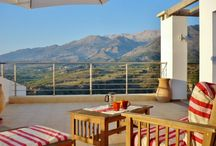 Panokosmos / A unique luxury bed and breakfast with panoramic views, set in the foothills of the White Mountains of Crete