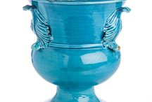 Puglia Collection / Our Puglia Collection is some of the finest ceramics imported straight from Italy. The striking turquoise colors were modeled after the waters of Santorini.
