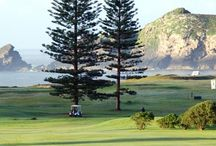 Golf Club Norfolk Island / Amazing pictures of golf course in Norfolk Island.