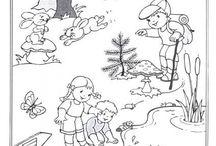 Pracovní listy 4 / předškolní činnosti
