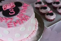 Alyssa's 3rd Birthday - Minnie Mouse theme