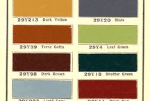 Historical timeless paint colors