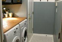 Basement Laundry Bathroom