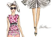 Fashion|drawing and illustration