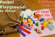 Busy bags / Fun ideas to keep the kids busy!