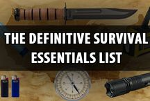 Prepping and Survival Essentials / A collection of the most important survival and preparedness articles for beginner.s