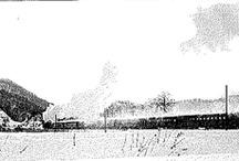 Old Japanese railway