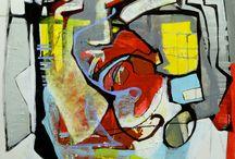 lukisan abstrac