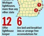 Michigan Beachtowns - Lighthouses