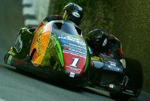 Sidecar-Recing-Moto
