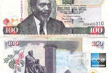 Billets Kenya / Le shilling kényan est la devise officielle du Kenya depuis le 14 septembre 1966. Les billets de banque Kenya  en circulation sont :  50, 100, 200, 500, 1000 shillings.