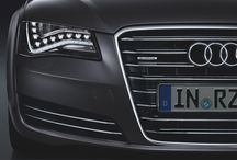 Audi A8 L / The Audi A8 L. Witness its powerful sovereignty. Led by luxury, complemented by performance, dynamics and efficiency. Throughout its full length. Source: Audi AG