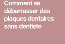 Plaques dentaires