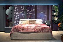 Stripes Boiserie / Stripes Boiserie è la novità 2013 di Zanette per l'arredo della camera da letto, una struttura formata da doghe da cui è possibile partire per costruire la personalizzazione della zona notte.